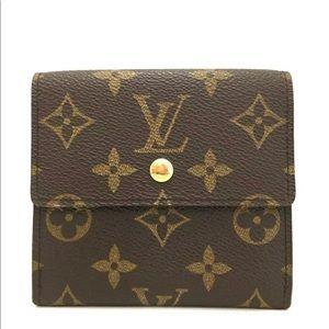 Louis Vuitton Monogram Portefeiulle Elise Wallet